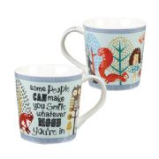 Bramble & Rocket Make You Smile Mug